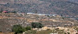Settlement expansion, Qaryut, West Bank, 6.6.2015. Photographer: Ahmad Al-Bazz. Activestills
